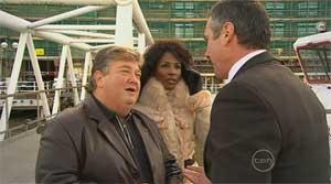 Jono Coleman, Sinitta, Karl Kennedy in Neighbours Episode 5179