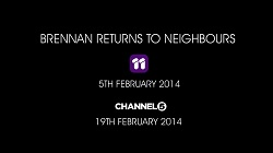 """in Neighbours Webisode Brennan on the Run Part 4 - """"The Fight"""""""