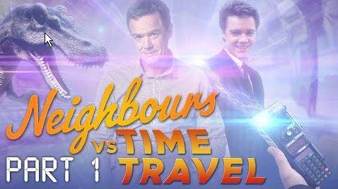 Paul Robinson, Paul Robinson  in Neighbours Webisode Neighbours vs Time Travel Part 1