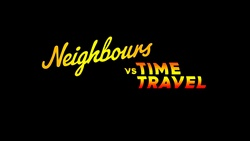 in Neighbours Webisode Neighbours vs Time Travel Part 1