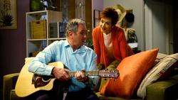 Karl Kennedy, Susan Kennedy  in Neighbours Webisode Neighbours vs Time Travel Part 1
