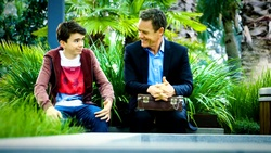 Jimmy Williams, Paul Robinson  in Neighbours Webisode Neighbours vs Time Travel Part 1