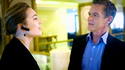 Piper Willis, Paul Robinson  in Neighbours Webisode Neighbours vs Time Travel Part 1