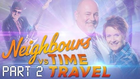 Karl Kennedy, Philip Martin, Susan Kennedy  in Neighbours Webisode Neighbours vs Time Travel Part 2