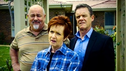 Philip Martin, Susan Kennedy, Paul Robinson  in Neighbours Webisode Neighbours vs Time Travel Part 2