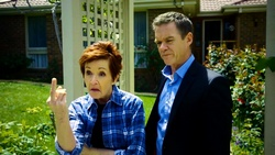 Susan Kennedy, Paul Robinson  in Neighbours Webisode Neighbours vs Time Travel Part 2