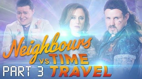<br> in Neighbours Webisode Neighbours vs Time Travel Part 3