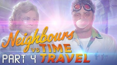 <br> in Neighbours Webisode Neighbours vs Time Travel Part 4