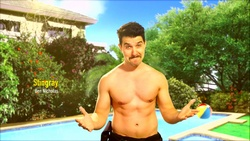Stingray Timmins  in Neighbours Webisode Neighbours vs Time Travel Part 5