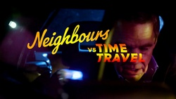 Paul Robinson  in Neighbours Webisode Neighbours vs Time Travel Part 5