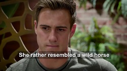 Aaron Brennan  in Neighbours Webisode UK Subtitles Special - Part 2