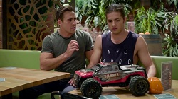 Aaron Brennan, Tyler Brennan  in Neighbours Webisode UK Subtitles Special - Part 2