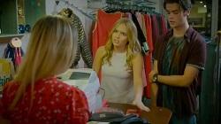 Shopkeeper, Xanthe Canning, Ben Kirk  in Neighbours Webisode Xanthe ♥ Ben