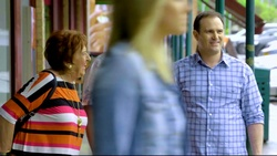 Angie Rebecchi, Dee Bliss, Stonie Rebecchi  in Neighbours Webisode Christmas Crackers/Summer Stories 5