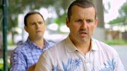 Stonie Rebecchi, Toadie Rebecchi  in Neighbours Webisode Christmas Crackers/Summer Stories 5