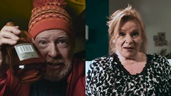 Clive Gibbons, Sheila Canning  in Neighbours Webisode Sheila and Clive, A Long Distance Love Story Part 1 - Mount Everest