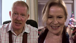 Clive Gibbons, Sheila Canning  in Neighbours Webisode Sheila and Clive, A Long Distance Love Story Part 1 - French in Montreal