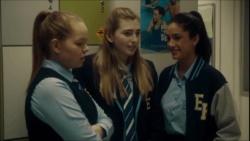 Harlow Robinson, Mackenzie Hargreaves, Yashvi Rebecchi  in Neighbours Webisode Episode 1 - Monday