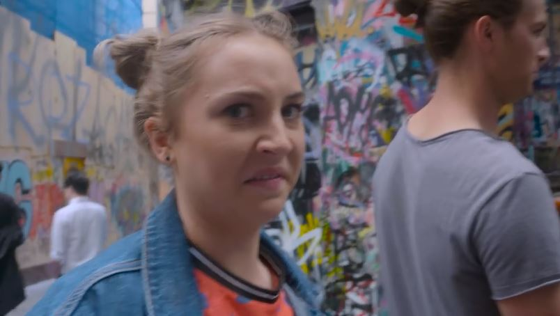 Piper Willis, Tyler Brennan  in Neighbours Webisode Pipe Up Part 13: Melbourne Top 5