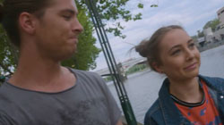 Tyler Brennan, Piper Willis  in Neighbours Webisode Pipe Up Part 14: Melbourne Top 5 - Part 2