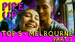Piper Willis, Tyler Brennan  in Neighbours Webisode Pipe Up Part 15: Melbourne Top 5 - Part 3
