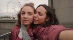 Piper Willis, Imogen Willis  in Neighbours Webisode Pipe Up Part 16: London, Baby!