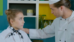 Piper Willis, Tyler Brennan  in Neighbours Webisode Pipe Up Part 22: Kitchen Nightmare