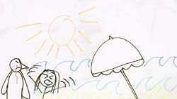 in Neighbours Webisode Pipe Up Part 30: Drawing My Life