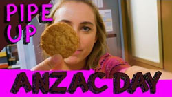 Piper Willis  in Neighbours Webisode Pipe Up Part 31: ANZAC Day