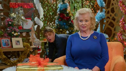 <br> in Neighbours Webisode The Queen of Erinsborough