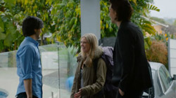 David Tanaka, Milly, David Tanaka  in Neighbours Webisode Road Trip Part 1