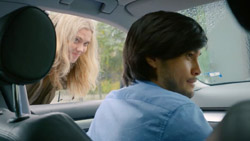 Milly, David Tanaka  in Neighbours Webisode Road Trip Part 1