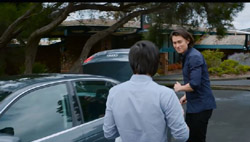 David Tanaka, Leo Tanaka  in Neighbours Webisode Road Trip Part 2