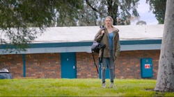 Milly  in Neighbours Webisode Road Trip Part 2