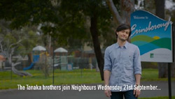 David Tanaka  in Neighbours Webisode Road Trip Part 3