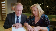 Clive Gibbons, Sheila Canning  in Neighbours Webisode Episode 1 – How Do You Tell A Friend Bad News?