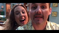 Sonya Rebecchi, Toadie Rebecchi  in Neighbours Webisode Neighbours vs Zombies Part 1