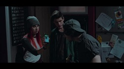 Hope Gottlieb, Bailey Turner, Stingray Timmins  in Neighbours Webisode Neighbours vs Zombies Part 2